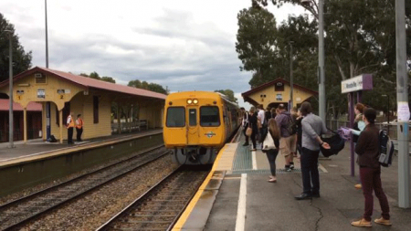 Woodville Train Station
